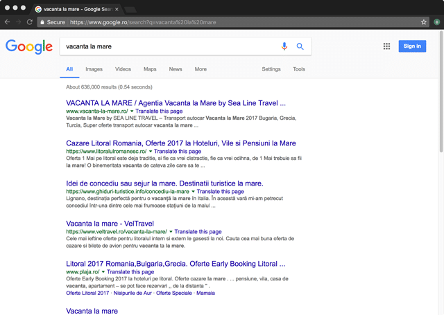 rezultate-google-vacanta-mare