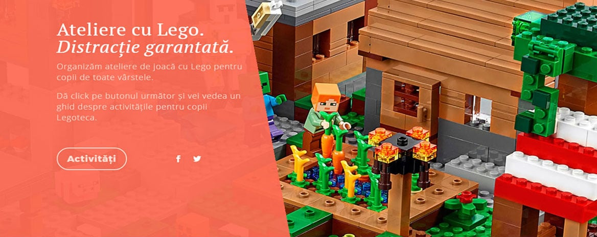 Website prezentare Legoteca