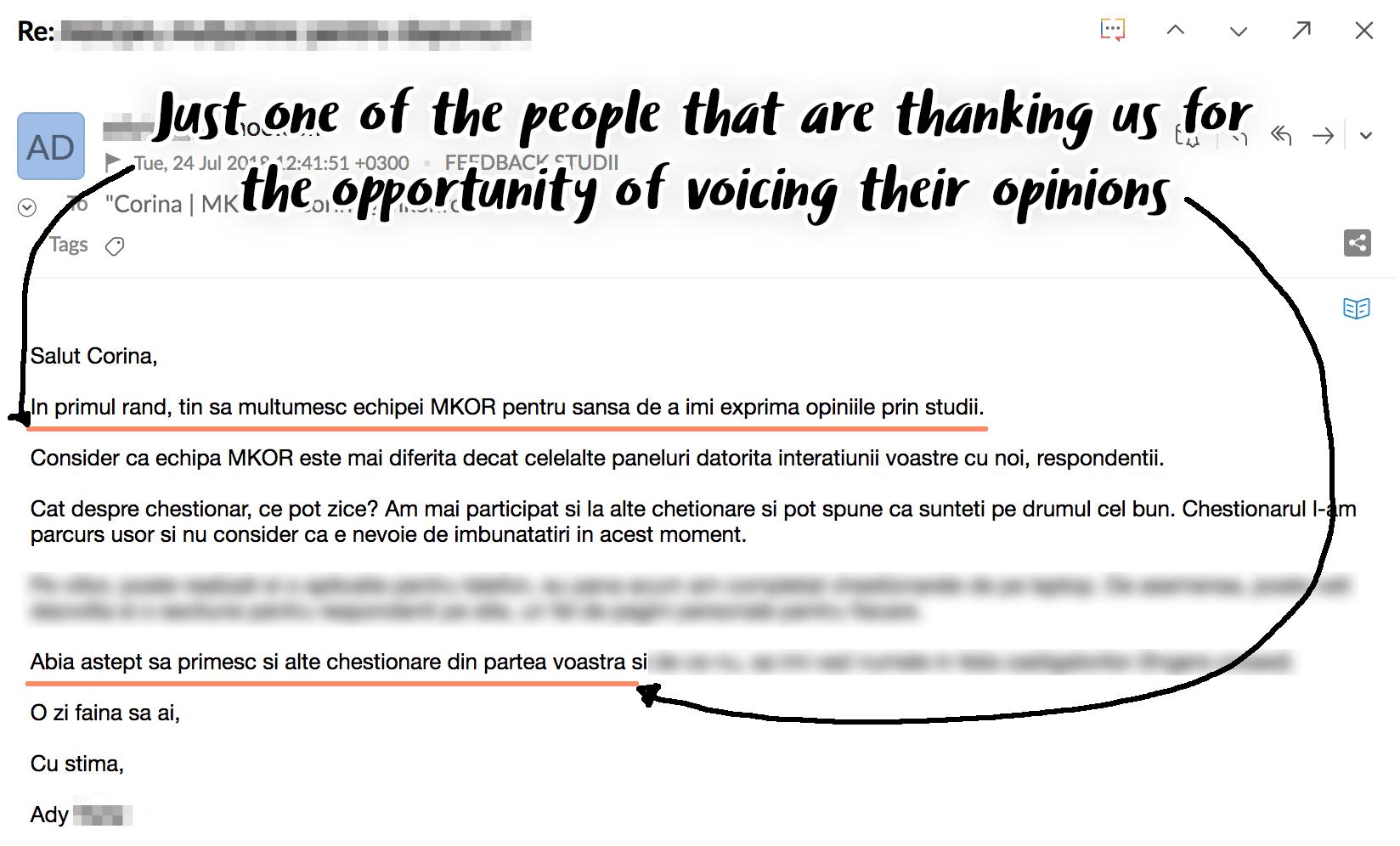 respondent panel feedback 1